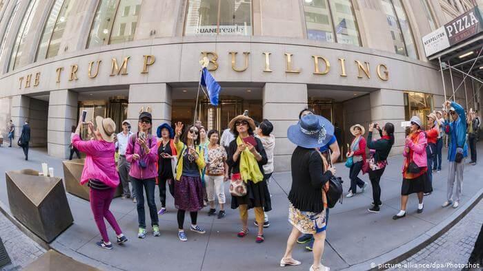 Trump Gebäude Wall Street New York (picture-alliance/dpa/Photoshot)