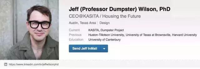 他放弃豪宅,住进垃圾箱;成了网红,还拉到投资!