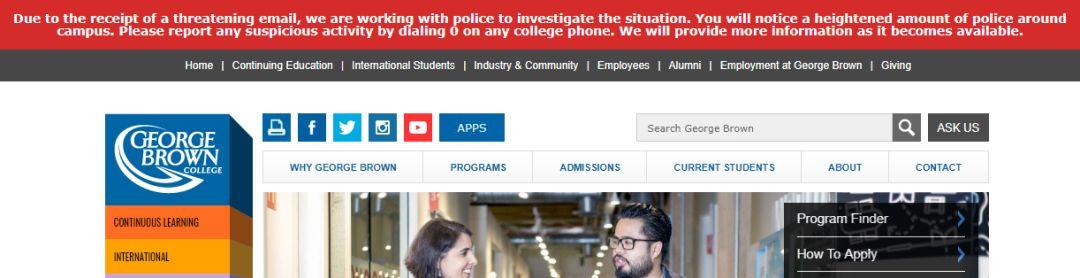 炸弹威胁!多伦多四所大学10个校区数万人惊魂