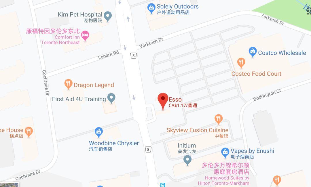 万锦突发多起持刀抢劫事件! 华人餐厅plaza重灾区 路人也不放过!