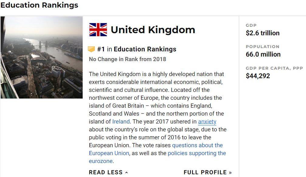 美国留学政策紧缩之下,英国会是一种替代选择吗?