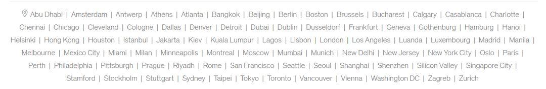 全 球 | 72个城市开放招聘!顶级咨询McKinsey招募Consulting Associate Intern