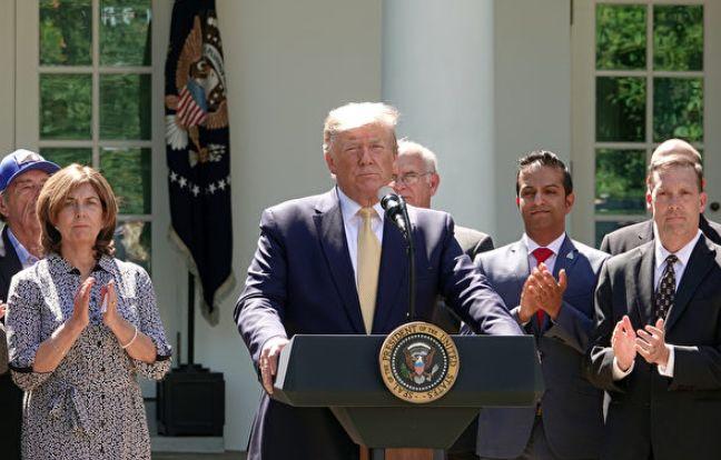 川普宣布新规 上千万美国人将获高质量医保