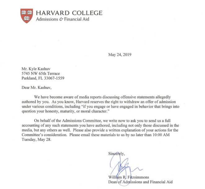 """18岁男孩哈佛Offer被撤销,""""价值观""""在名校眼中有多重要?"""