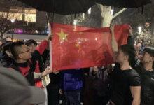 中国留学生包围香港游行集会齐唱国歌最完整视频独家曝光-留学世界网
