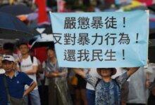 """日本网民纷纷点赞!日本学者亲历香港游行:《采访香港游行险遭""""正义市民""""施暴——对此深感悲痛和不解 质疑所谓""""正义""""的本质》-留学世界网"""