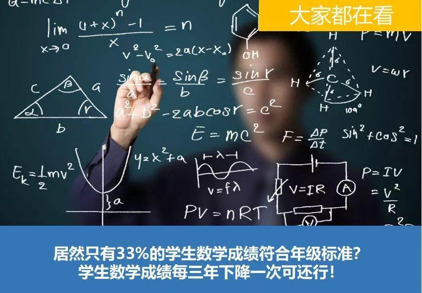 为什么美国学生的数学这么烂?