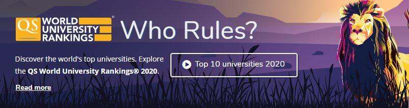 重磅!2020年QS世界大学排名发布!英美排名下滑、清北创造历史!