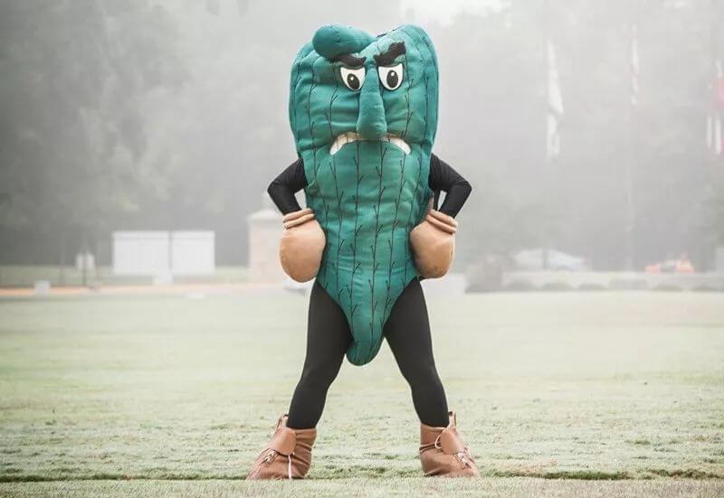盘点美国大学那些奇葩的吉祥物:原来世界上真的有鼻涕虫?!