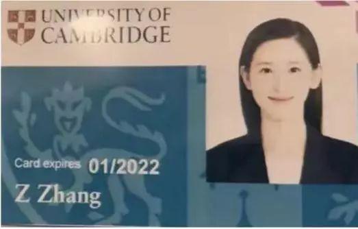 """章泽天远赴英国剑桥留学深造,学生证曝光仍是清纯""""奶茶妹妹"""""""