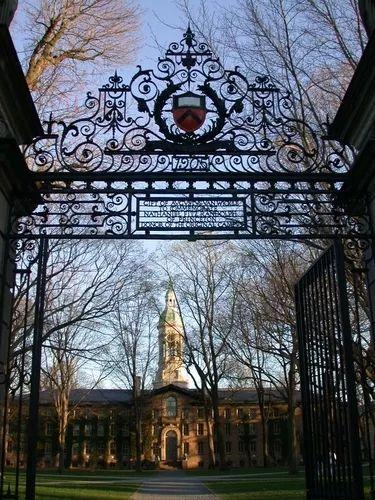 普林斯顿大学和他的美丽心灵