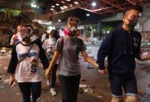 香港政府:香港理工大学近900人自首 会以暴动罪拘捕所有人!-留学世界网