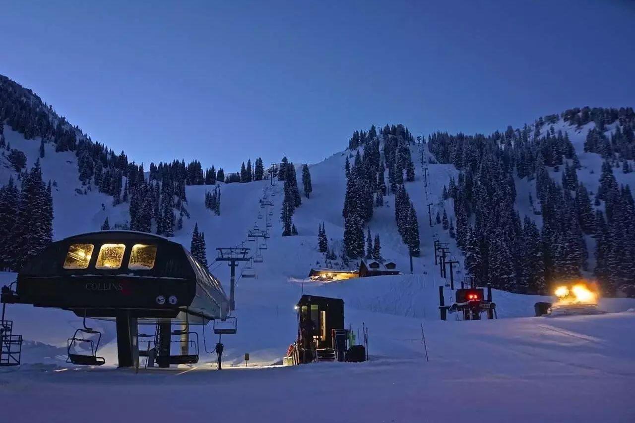 全美10大滑雪胜地 | 冬假打卡,提前看起来~