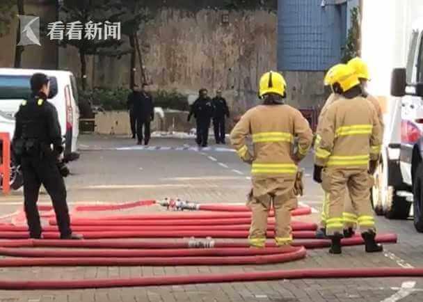 香港城市大学发现怀疑爆炸性化学品,香港警方获报后紧急到场处理。