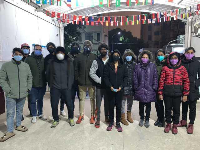 印度留学生被困武汉 弹尽粮绝 希望 #印度 来救援 #武汉肺炎