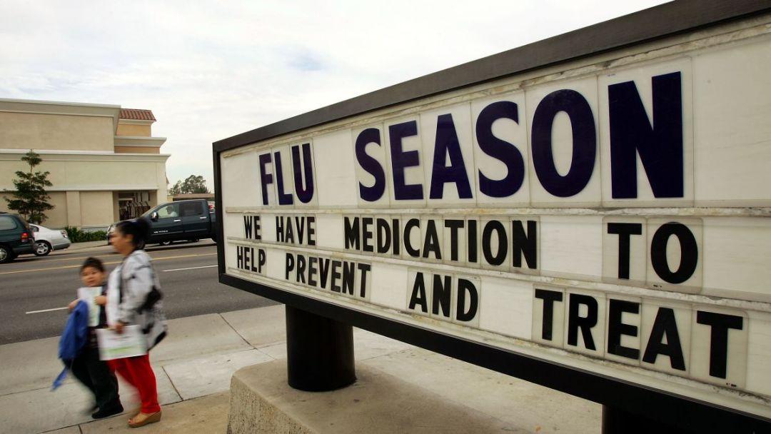 美国遭遇最糟糕流感季,已有32名儿童死亡