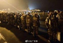 湖北孝感的中国解放军出现  #武汉肺炎 #新型冠状病毒 感染, 200士兵已被隔离在军机机库-留学世界网