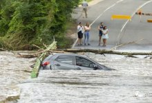 魔幻2020?火还没灭的 #澳大利亚 ,遇20年罕见 #暴雨 和洪灾...-留学世界网