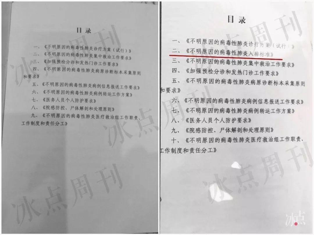 白皮手册与绿皮手册:新冠肺炎诊断标准之变