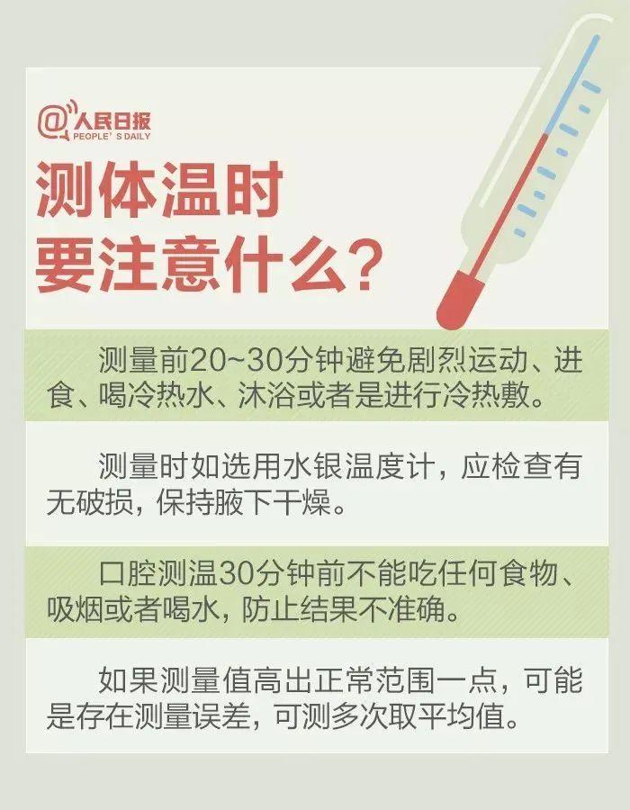 发热不等于感染新冠病毒!防疫期间的体温测量问题