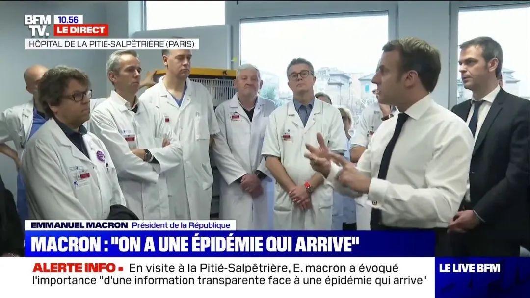 """马克龙:我们必须以""""最好的抗击""""面对这场大流行,附欧洲疫情分布图"""