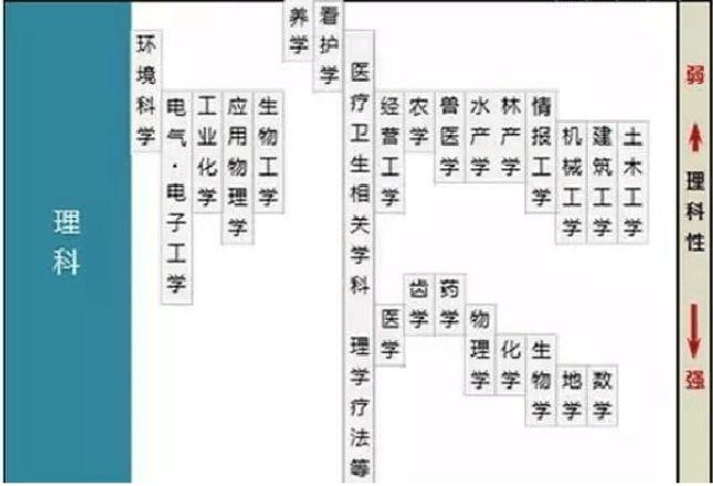 日本大学专业划分详解,有你喜欢的专业吗?