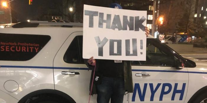 昨晚,全纽约为他们鼓掌...