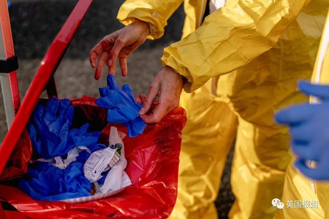 美国医护被逼上街抗议:没口罩没手套,我们不想死…