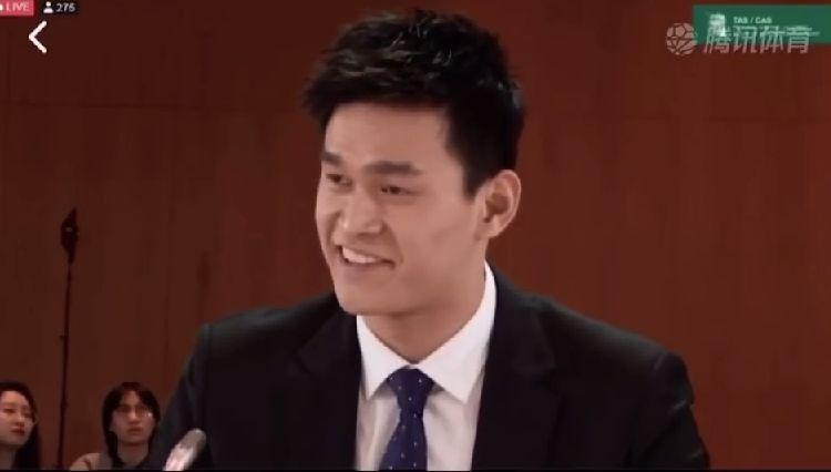孙杨听证会翻译小姐姐:我太难了!