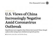 最新民调显示美国人对中国的反感 已达到历史最高点! COVID-19 #武汉肺炎 #新型冠状病毒 #COVID19 #COVID_19 #CoronaVirusUpdates #COVIDー19 #COVID__19-留学世界网