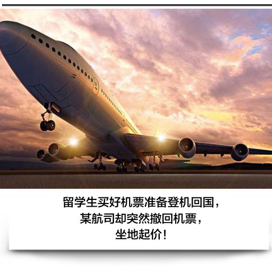 """坑惨留学生!候机一整天被告航班取消,国内某航司的""""惊天骗局"""""""