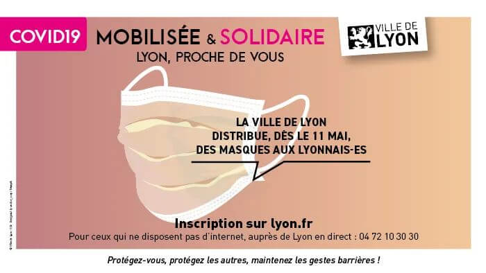 法国多地市政府免费派发口罩,你领到了吗?附申领链接