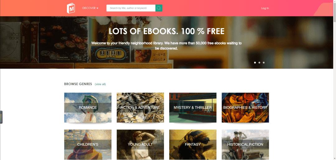 40个全球免费电子图书馆网址