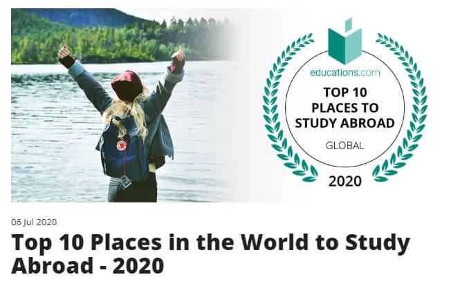 """漂亮!加拿大勇夺""""2020年全球TOP10留学国家""""冠军!美国却对留学生再下杀手……"""